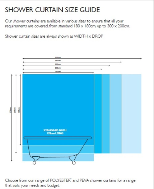 What Is A Standard Size Shower Curtain 28 Images